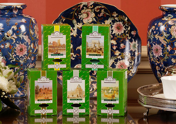 Ahmad Tea expands its range to include green teas for the first time, as well as iced teas.