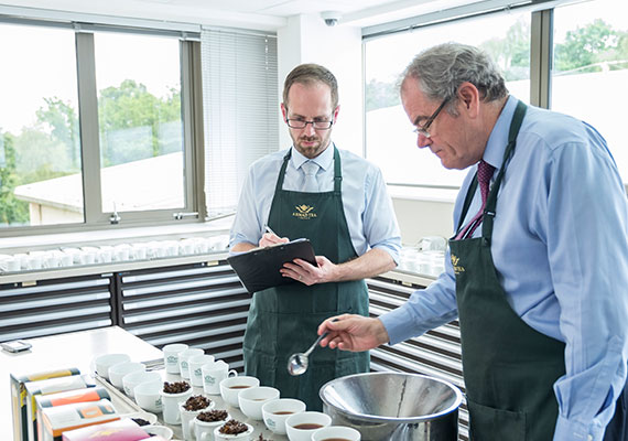 Ahmad Tea opens new offices in Chandler's Ford, Hampshire. The offices host a tea tasting room and a carefully curated tea museum.