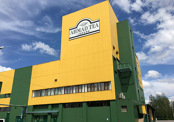 The company builds its first overseas manufacturing plant in Kharkov, Ukraine.