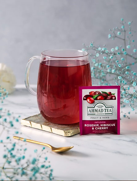 Our Fruit & Herbal infusions add an exciting dimension to a tea lover's repertoire. They are infused with natural herbs like camomile, and delectable fruits to create vibrant flavours and enticing aromas. Naturally caffeine and sugar free, they're a joyful treat. Explore the range.
