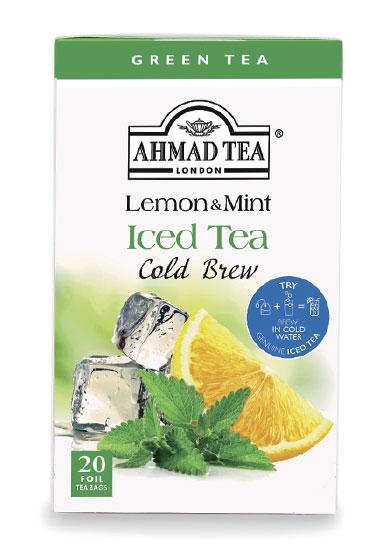 Buy Lemon & Mint Iced Tea