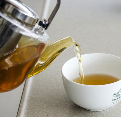 Emrald green tea