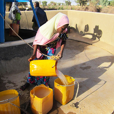 Niger is landlocked and frequently suffers from drought