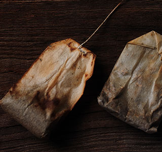 Teabag invented by Thoma Sullivan