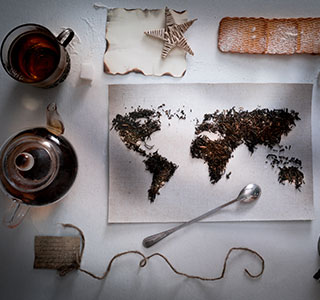 Today, tea is the world's second most popular drink, after water, with over five million tonnes produced each year.