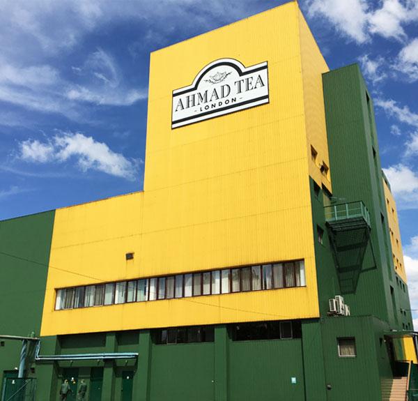 Ahmad Tea Ukraine Factory