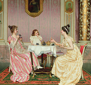 Anna Maria Russell, Duchess of Bedford, is widely regarded as the originator of the British 'afternoon tea' ritual.
