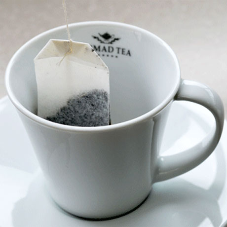 Take your teabag and put it in your cup