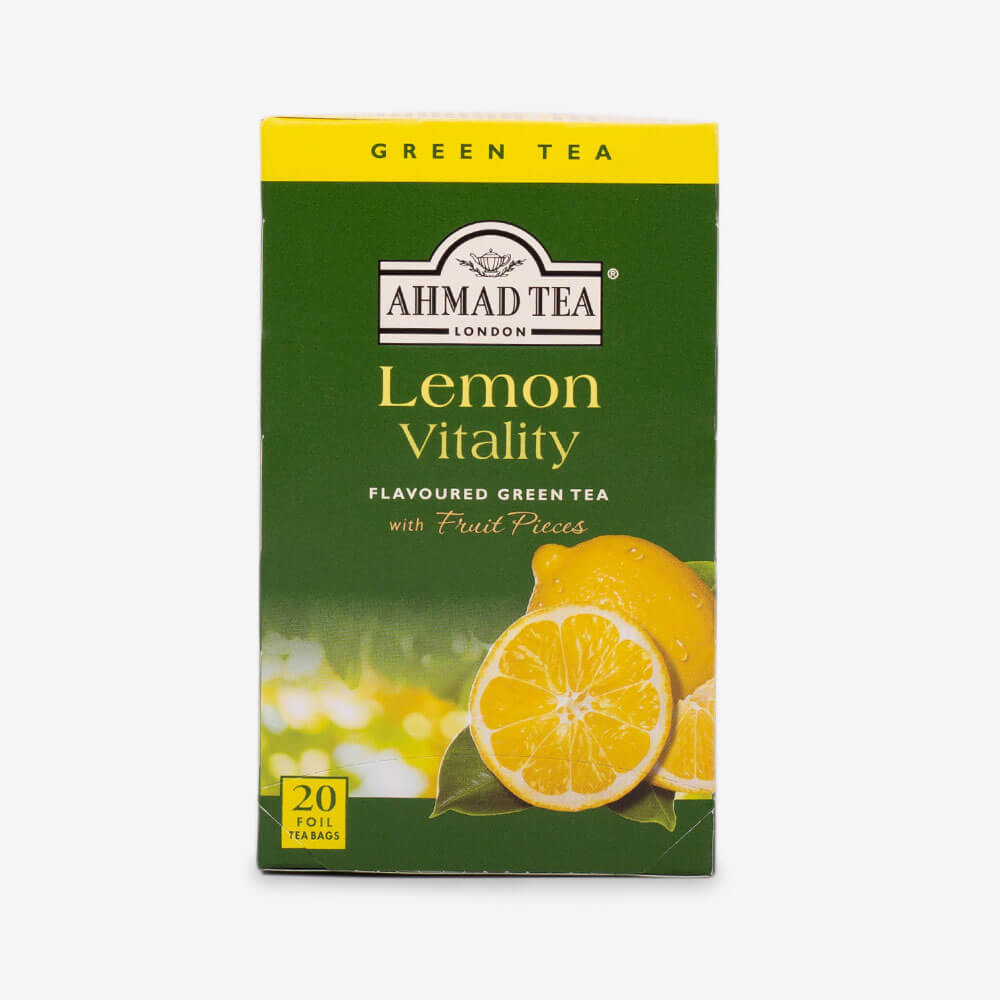 Lemon Vitality Green Tea - Teabags