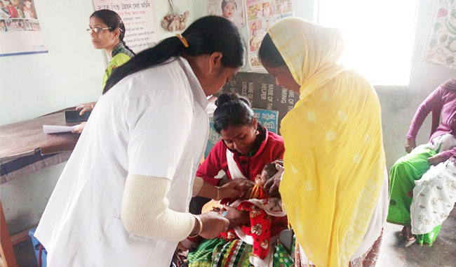 A nutrition programme in which 109 pregnant women participated.