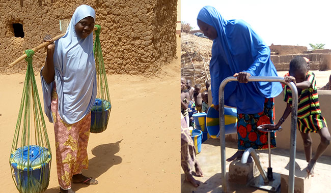 Women's outreach campaign in Niger, Africa