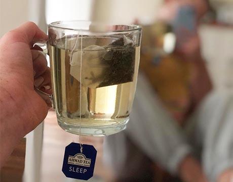 Try Ahmad Tea Sleep natural benefits blend.
