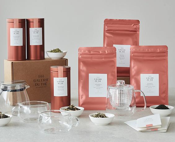 Shop luxury tea from Galerie du Thé