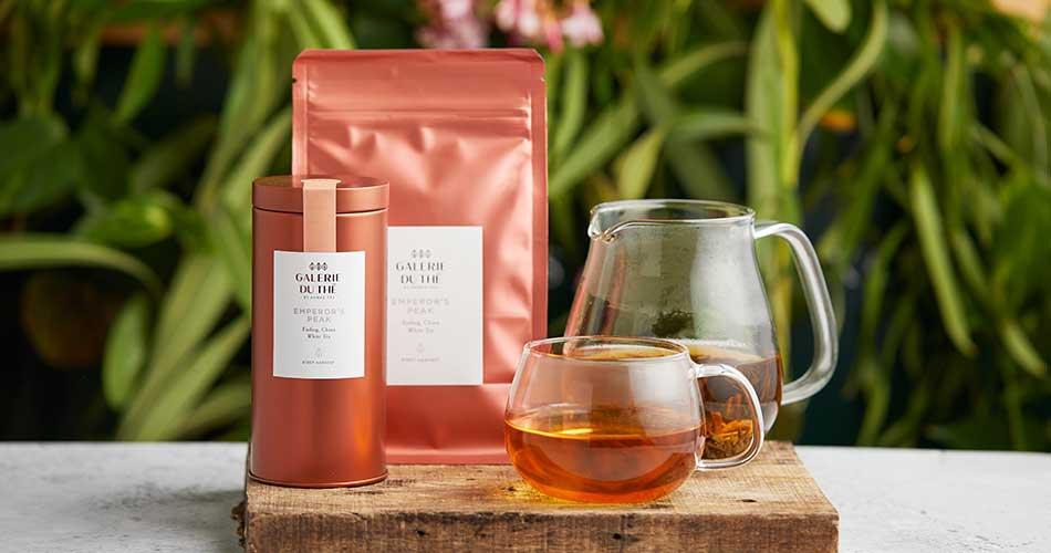 Galerie du Thé- Ahmad Tea new luxury tea brand