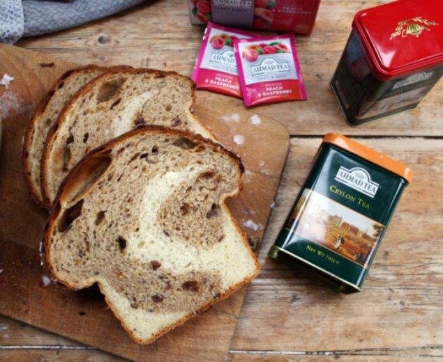 Tea Swirl Bread with Ceylon